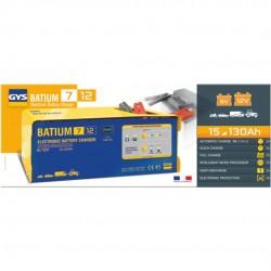 Chargeur de batterie 15 a 130 AH batium 7.12GYS