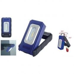 Lampe de poche magnétique 5 LED, rechargeable
