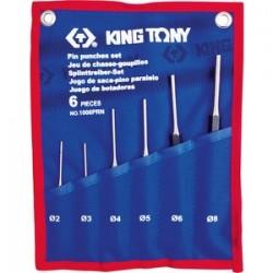 Jeu de chasse goupilles 6 pièces - King Tony - 1006PRN