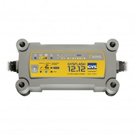 Chargeur de batterie 12V GYSFLASH 12.12