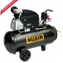 Compresseur d'air 50 litres NUAIR