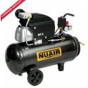 Compresseur d'air 2CV 50 litres NUAIR