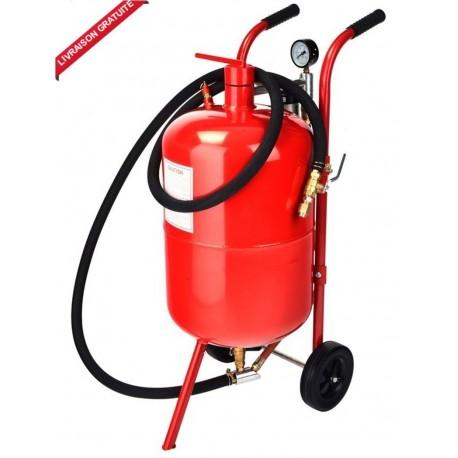 Sableuse mobile 75 litres