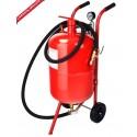 Sableuse mobile à pression 75 litres avec accessoires