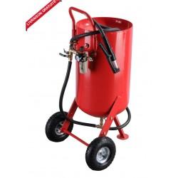 Sableuse mobile à pression 100 litres avec accessoires