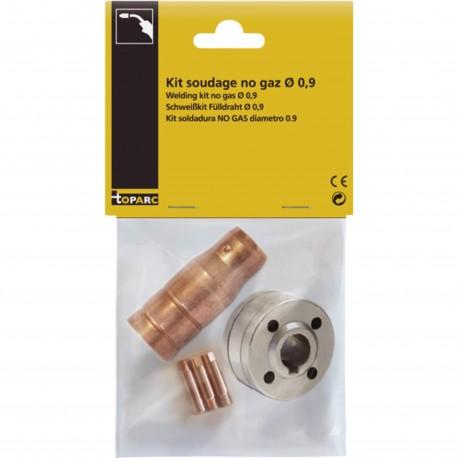 Kit de soudage sans gaz pour fil fourré Ø 0,9 / 1,0 mm