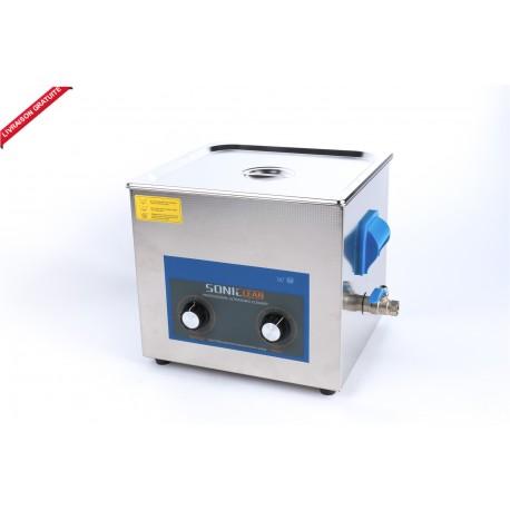 Bac nettoyeur ultrason 15 litres / analogique