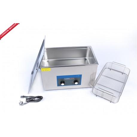 Bac nettoyeur ultrason 30 litres / analogique