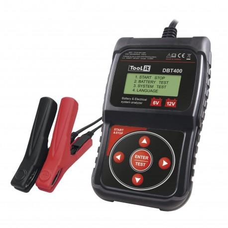Testeur de batterie 6-12V DBT400