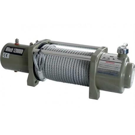 Treuil de traction électrique 4x4 12V 5450 kg