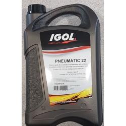 Huile IGOL Pneumatic 22 - 5 litres