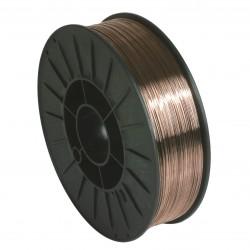 Bobine de fil plein acier 200 mm - Ø 1 mm
