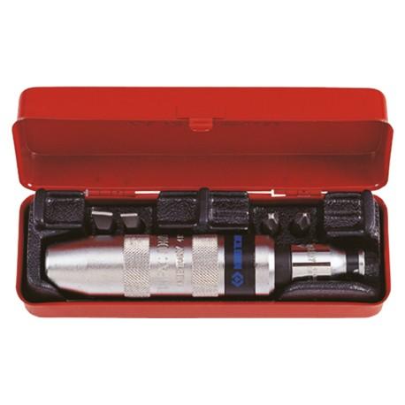 Coffret de tournevis à frapper et accessoires - 6 pièces