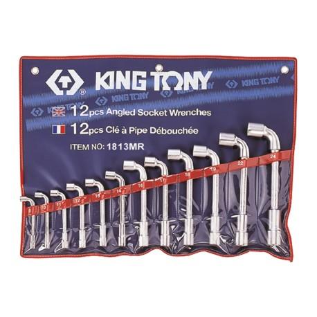 Trousse de clés à pipe métriques - 12 pièces