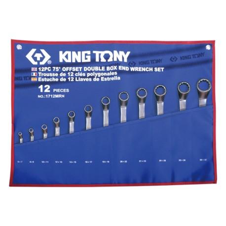 Trousse de clés polygonales contrecoudées métriques - 12 pièces