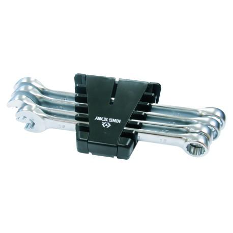 Rack de clés mixtes SpeedOpen métriques - 4 pièces