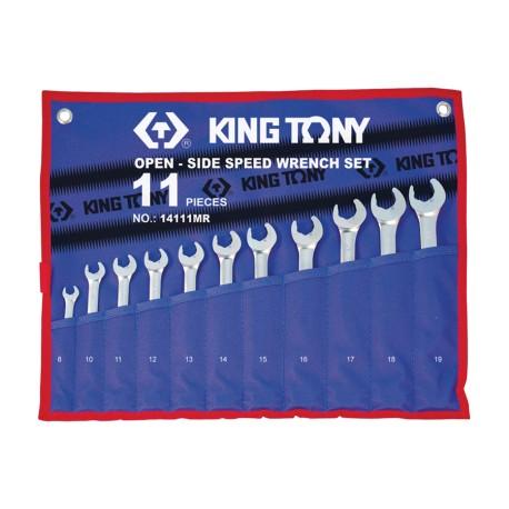 Trousse de clés mixtes SpeedOpen métriques - 11 pièces
