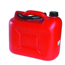 Jerrican plastique 20 litres avec bec verseur flexible