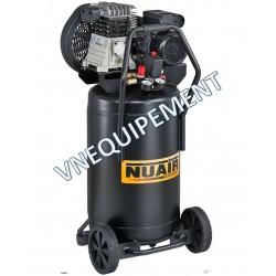 Compresseur d'air vertical 100 litres moteur 3 CV NUAIR