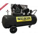 Compresseur d'air 270 litres moteur triphasé de 5,5 CV NUAIR