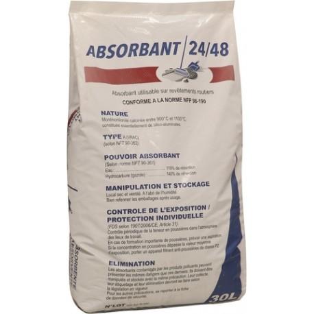 Granulés absorbants Lourd minéral argile - sac de 18 kg