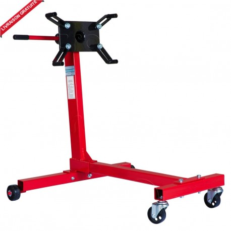 Support moteur roulant 450 kg