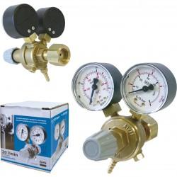 Manomètre - débitmètre 20 l/min