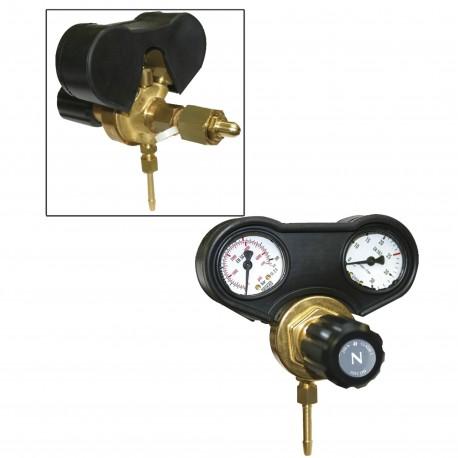 Manomètre - débitmètre 30 l/min