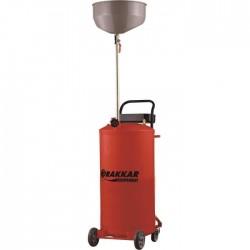 Vidangeur par gravité 70 litres Drakkar equipement