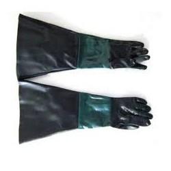 Paire de gant pour cabine de sablage 450 litres