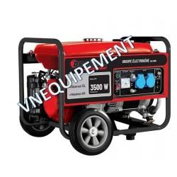 Groupe électrogène monophasé essence 3500W - Drakkar equipement