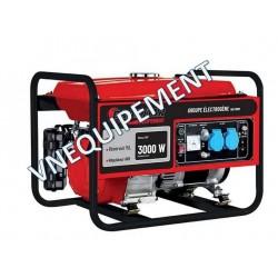 Groupe électrogène monophasé essence 3000W - Drakkar equipement