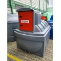 Cuve stockage gasoil GNR fuel PEHD DP 2500 litres avec pompe