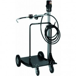 Ensemble pneumatique huile 20-60kg avec chariot PIUSI