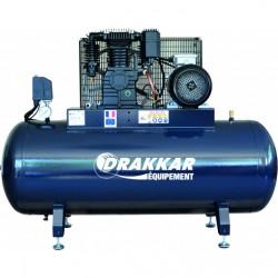 Compresseur d'air 7.5CV 500 litres moteur triphasé 11256