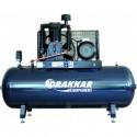 Compresseur d'air 10CV 500 litres moteur triphasé