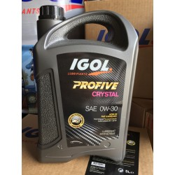 Huile Moteur Igol Profive Crystal 0W30
