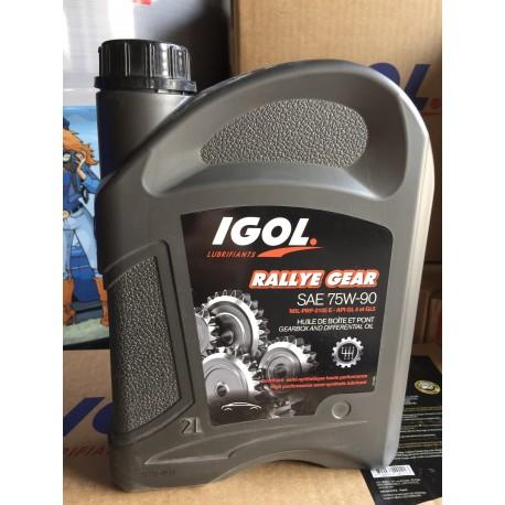 Huile Boite de vitesse Igol Rallye Gear 75W-90W