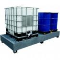 Bac de rétention en acier 1000 litres - 08327 - Drakkar equipement