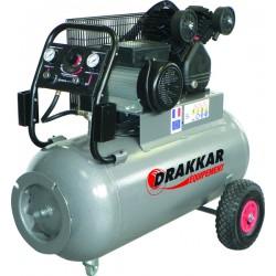 Compresseur d'air 3CV 100 litres 230V - 11210 Drakkar Equipement