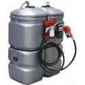Cuve de stockage gasoil PEHD DP 750 litres avec pompe