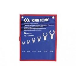 Trousse de clés à tuyauter métriques - King Tony - 1306MRN