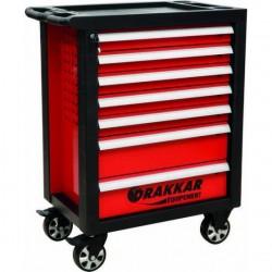 Servante d'atelier 7 tiroirs - 187 outils - 09234