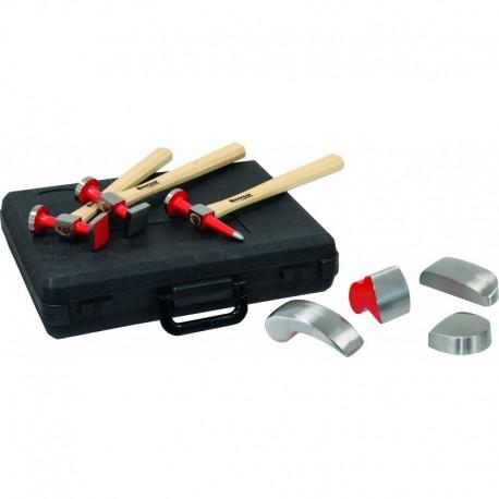 Coffret 7 pièces marteaux carrossier