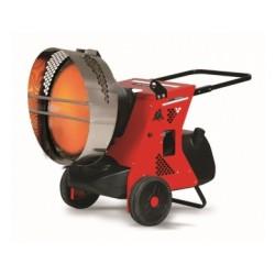 Chauffage d 'atelier mobile à fioul et à rayonnement 45.5 kW - 11049