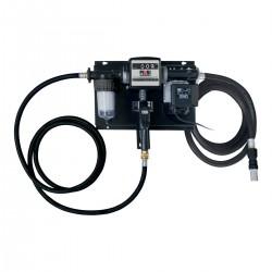 Station gasoil 230V 70L/min avec filtre, pistolet et compteur