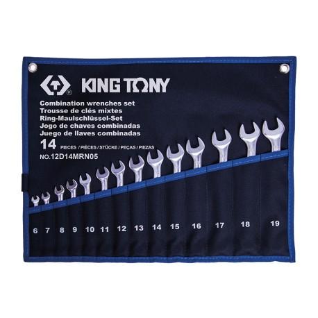 Trousse de clés mixtes - 14 pièces
