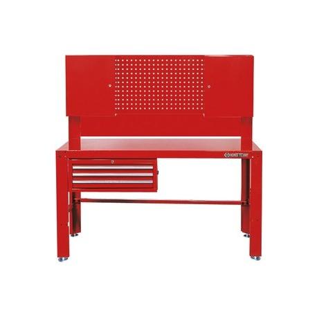 tabli d 39 atelier avec tiroirs panneau perfor armoires. Black Bedroom Furniture Sets. Home Design Ideas
