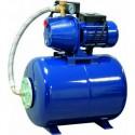 Pompe d'arrosage pour puits 230V avec surpresseur automatique 50L FONTE