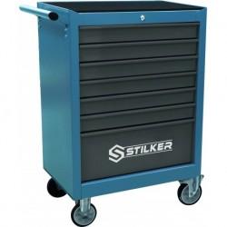 Servante d'atelier 7 tiroirs 215 outils - STILKER